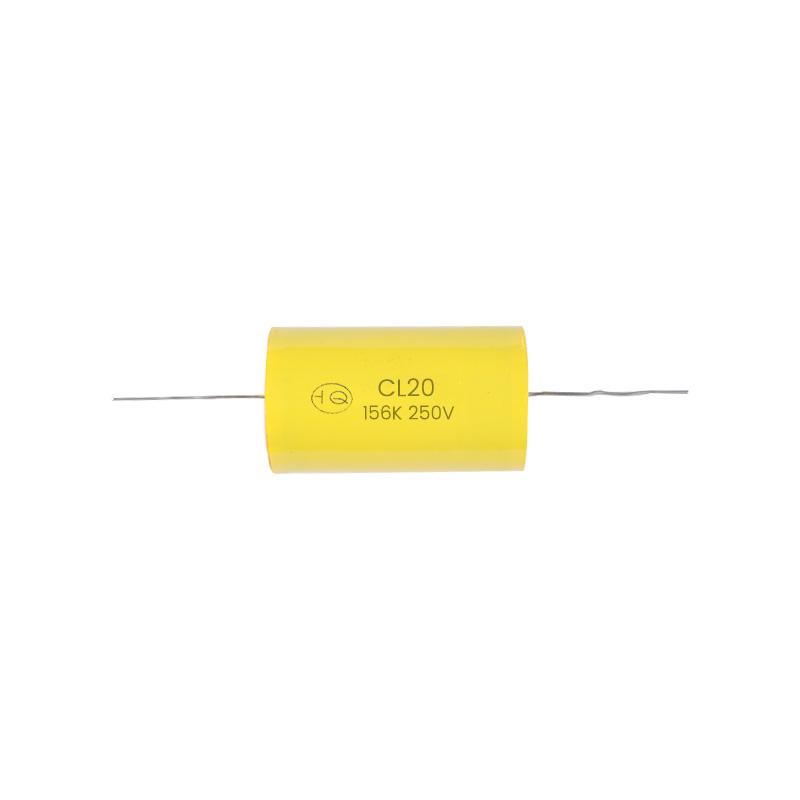 CL20(A) 型轴向金属化聚酯膜电容器